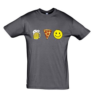 Pivo pizza happines