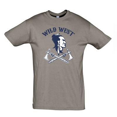 Wild west modrá
