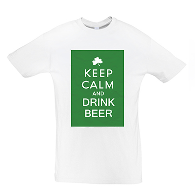 Keep calm drink beer