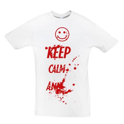 Keep calm krev