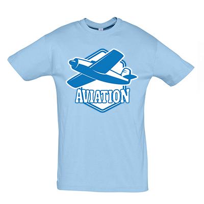 Aviation modrá