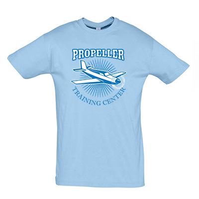Propeller modrá