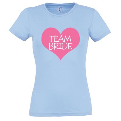 Team bride srdce