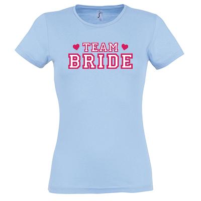 Team bride university bílá výplň
