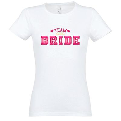 Team bride university výplň kudrlinky