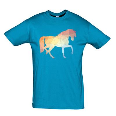 Pastelový kůň