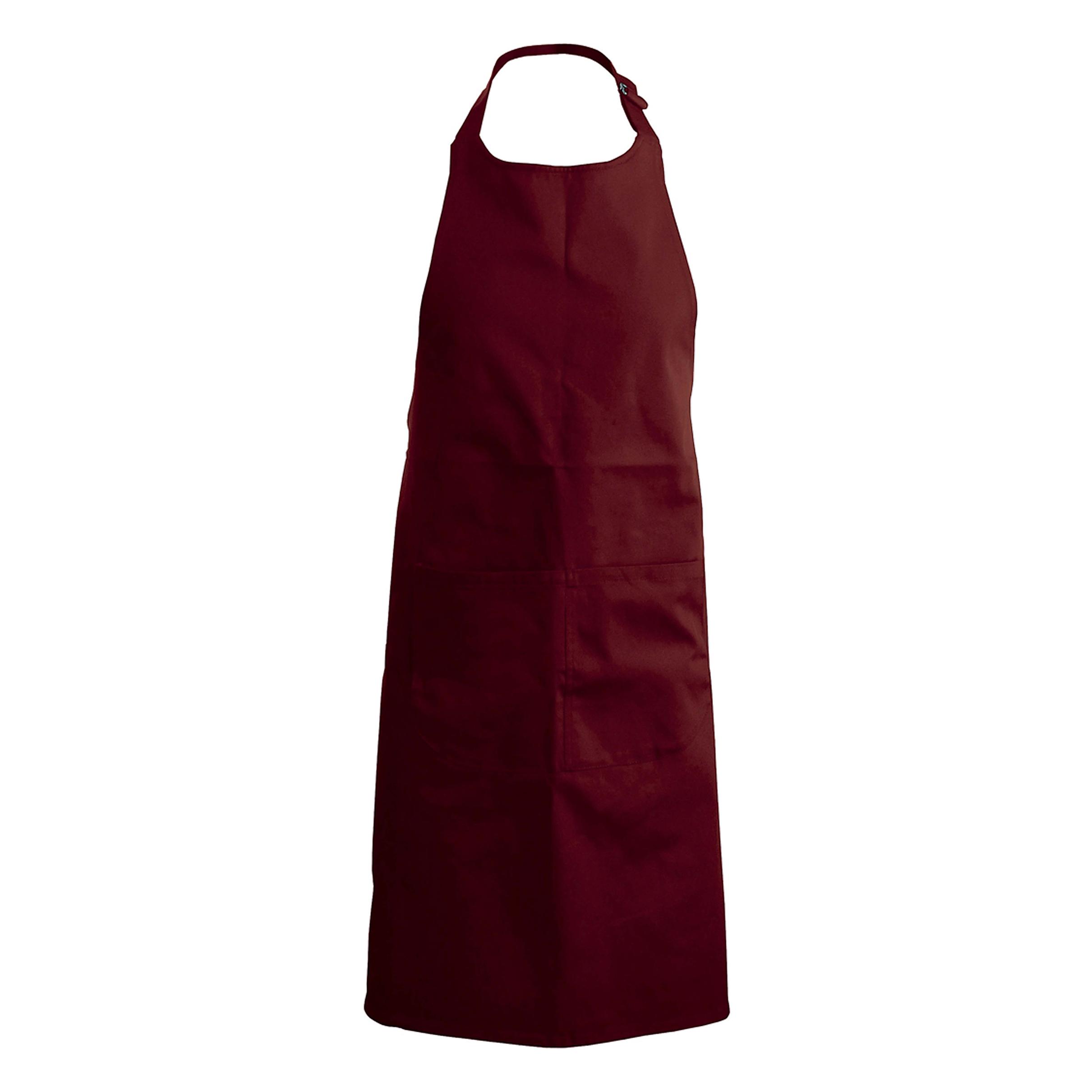 Kuchařská zástěra s kapsami