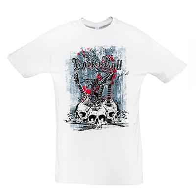 Rock Music Skulls