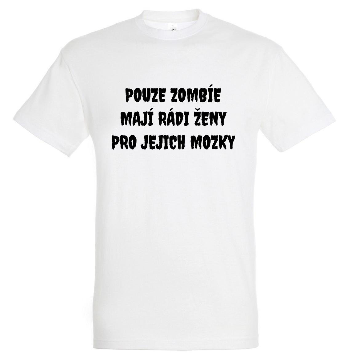 Zombie nápis černý