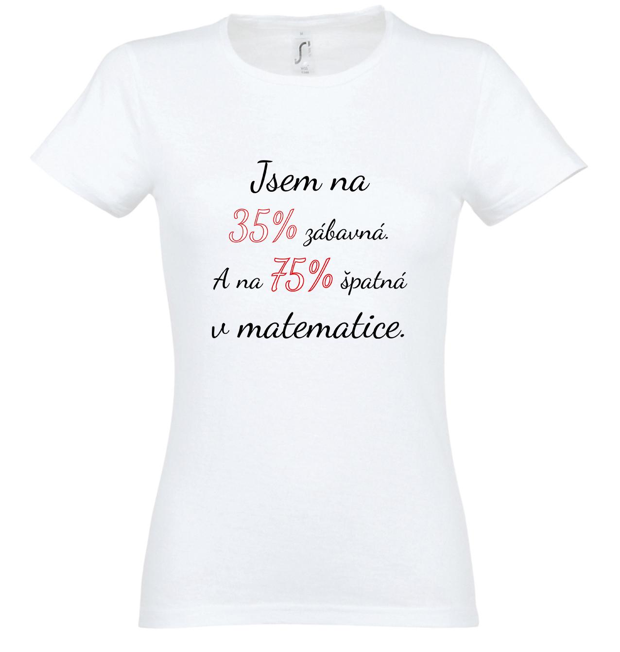 Zábavná matematička (černý nápis)