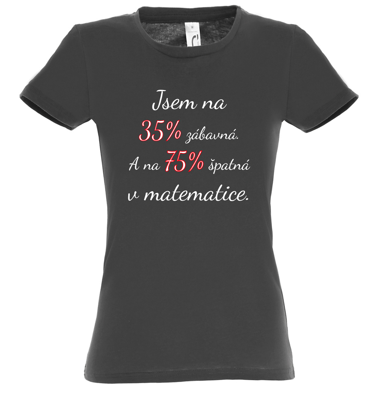 Zábavná matematička (bílý)