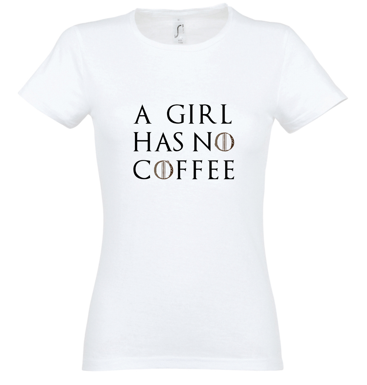 A girl has no coffee