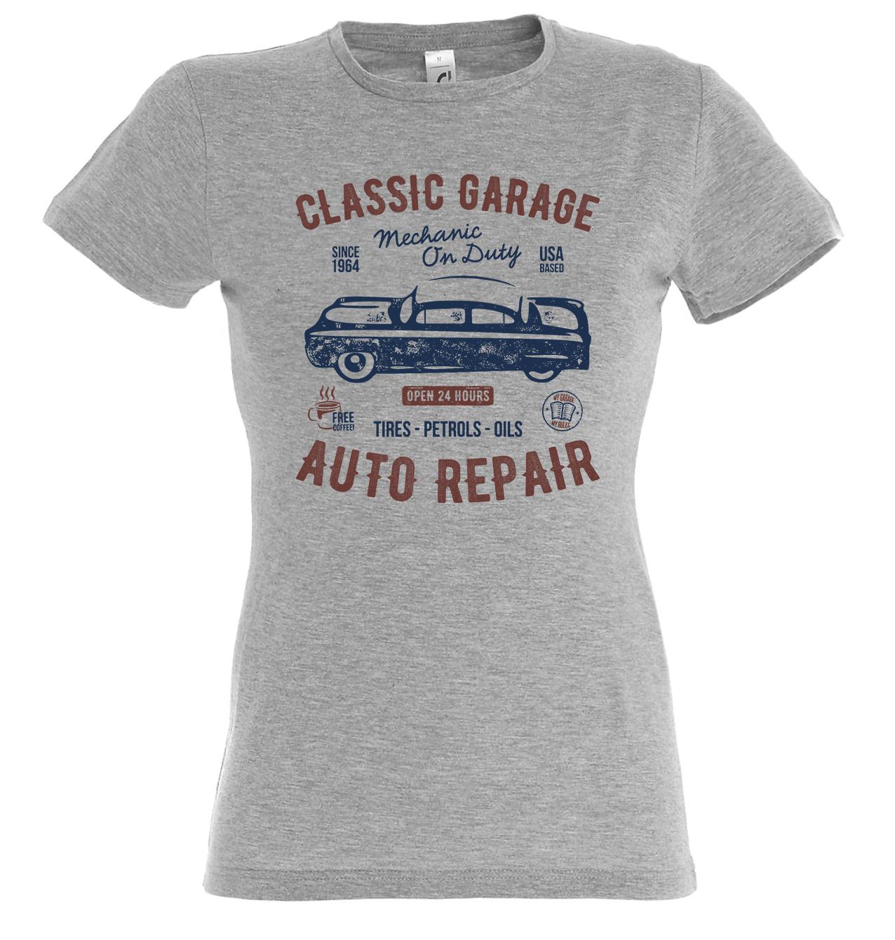 Classic garage auto repair